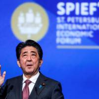 Abe backs Trump stance on U.S.-North Korea summit and holds out hope for future talks