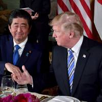 Abe to meet Trump at White House on June 7 ahead of possible U.S.-North Korea summit