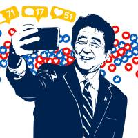 In Trump-esque fashion, Abe on offensive against Japan's established media