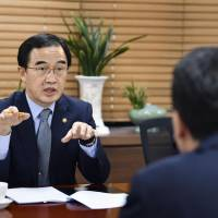 South Korea unification chief Cho Myoung-gyon hints a big role for Japan in economic initiative with North