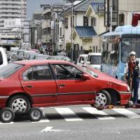 Crash involving 90-year-old near Tokyo highlights issue of managing Japan's elderly drivers