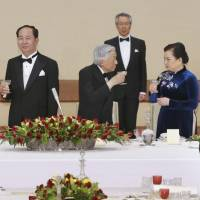 Emperor Akihito welcomes Vietnamese president in what may be his final state banquet