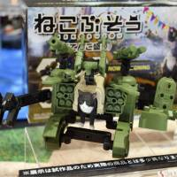 Toy exhibition featuring plastic Gundam models opens in Shizuoka with an eye on drawing younger fans