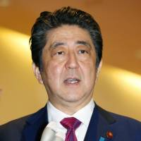 Abe expresses hope for progress on abduction issue through Trump-Kim summit