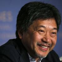 Director Hirokazu Kore-eda speaks at a news conference for for 'Shoplifters (Mankibi Kazoku)' on May 14 atht eh 71st Cannes Film Festival. | REUTERS