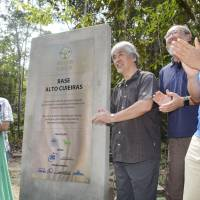 Kyoto University opens large research base in Amazon jungle