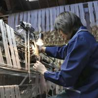 Fukushima silk maker's 'fairy feather' threads helping to revitalize traditional industry
