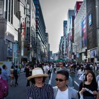 Authorities say the rise in foreign beneficiaries appears to correspond to the general trend of Japan's graying population. | AFP-JIJI