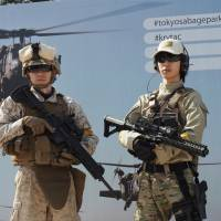Airsoft fields require players to wear goggles, and basic equipment, including guns, gloves, military fatigues, boots and kneepads, are typically available for hire. | MARK THOMPSON