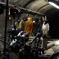 Through the lens: A look behind the scenes of the filming of 'Fantastic Mr. Fox.'   COURTESY OF TRISTAN OLIVER