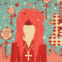 In memoriam: Musician hide was known for his flamboyant style. | ILLUSTRATION BY MICHAEL C. SMITH