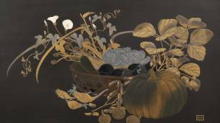 Decorated Urushi: The Beautiful World of Gold and Silver on Black Lacquer
