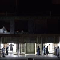 Wagner's windows: The multiple layers used in the New National Theater, Tokyo's production of 'Fidelio' allow the audience to follow more than one character at once. | MASAHIKO TERASHI / NEW NATIONAL THEATER, TOKYO