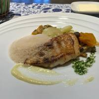 Saucy: Bistro de Yoshimoto's yellowback seabream is served lightly cooked with four different, yet complementary, sauces. | J.J. O'DONOGHUE