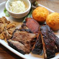 Best ribs in town: Pulled pork, brisket and spareribs at Smokehouse in Harajuku.   COURTESY OF SMOKEHOUSE