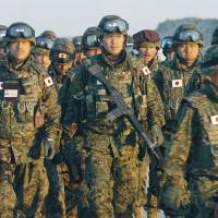 Japan's courts are being asked to define the role of the SDF