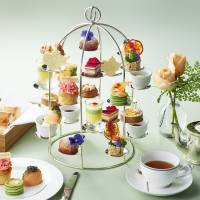 The Blooming Afternoon Tea is served until June 30 at The Lobby.