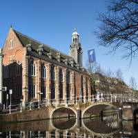 Dutch master's?: The historic rooms and facades of  Leiden University's prestigious Academy Building have been restored to their pre-1878 state featuring a palette of Old Dutch colors. | COURTESY OF	LEIDEN UNIVERSITY