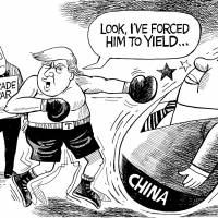 U.S. and China take trade friction to a new level