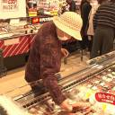 People shop at a supermarket in Tomioka, Fukushima. All food produced in Fukushima must pass very stringent safety standards before it can be approved for market distribution.
