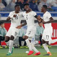 Ghana outclasses Japan as Akira Nishino endures disappointing first match in charge