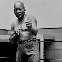 Boxer Jack Johnson, the first black world heavyweight champion, is seen here in a 1932 file photo. | AP