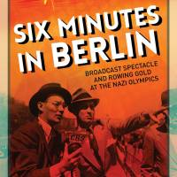 The cover of Michael Socolow's highly acclaimed book about the 1936 Summer Olympics and   radio broadcasting.