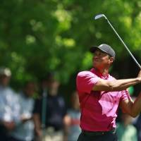 Tiger struggles in first round since Masters