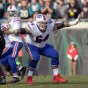 Former Buffalo Bills offensive guard Richie Incognito, seen in a January file photo, is a free agent.