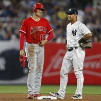 Ohtani hitless in loss to Yanks