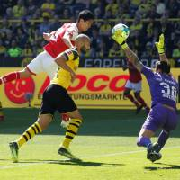 Yoshinori Muto goal helps Mainz secure top-flight survival