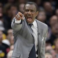 Toronto Raptors coach Dwane Casey was fired by the team on Friday despite winning a franchise-record 59 games this season. | AP