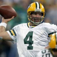 Hall of Fame quarterback Brett Favre says he battled addiction to Vicodin during his playing days. | AP