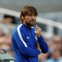 Chelsea manager Antonio Conte leads the team into the F.A. Cup final against Manchester United on Saturday. | REUTERS