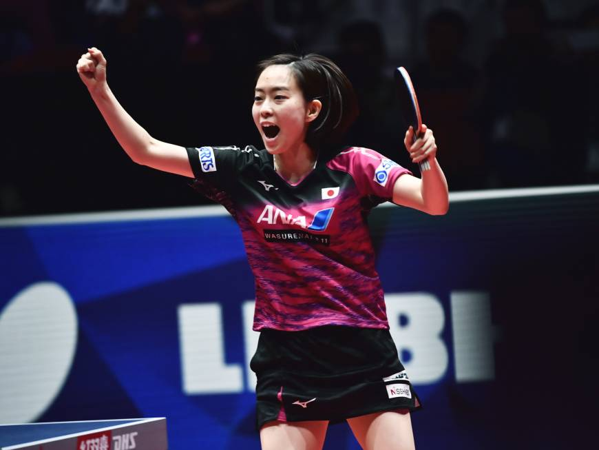 Japan women cruise past unified Korea team to reach World Team Table Tennis Championships final