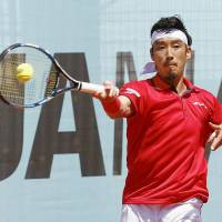 Yuichi Sugita loses in first round of Madrid Open