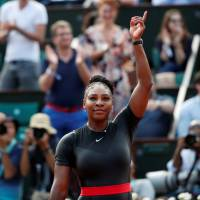 Serena Williams victorious in Grand Slam return at French Open