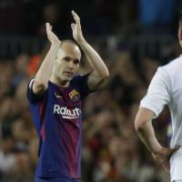 Vissel executive says club hasn't reached deal with Andres Iniesta