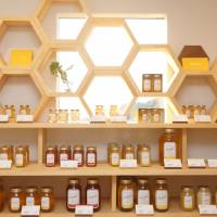 Kasahara Honey in Yamaguchi Prefecture has a shop and cafe featuring locally made honey. KASAHARA HONEY