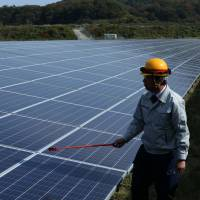 Japanese firms shift to clean energy despite state's enduring commitment to nuclear power