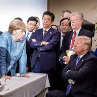 Trump's angry tweets leave G7 in disarray and put Abe in a bind