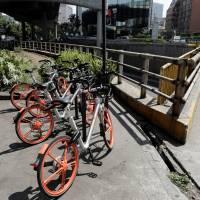 Rampant bicycle theft puts the brakes on China's Mobike foray in Mexico City