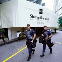 Singapore's Shangri-La hotel — where brass, arms merchants and spies rub elbows
