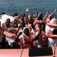 MSF Spain: Migrant ship rejected by Italy and Malta is 'symbol of EU's failure'