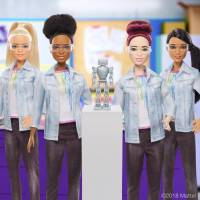 Robotics Barbie aims to inspire girls to become scientists