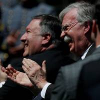 Hawkish John Bolton sidelined for Trump-Kim summit amid Mike Pompeo's rise but will lurk in the wings