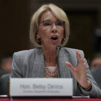 Betsy DeVos: School safety panel will not look at role of guns