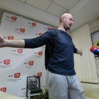 Makeup and pig's blood: Russian reporter describes his faked assassination in Kiev