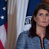 Nikki Haley slams rights groups after U.S. allegedly 'theatrically' quits key U.N. council