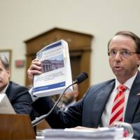House Republicans grill FBI and Justice leaders on Russia probe during heated session